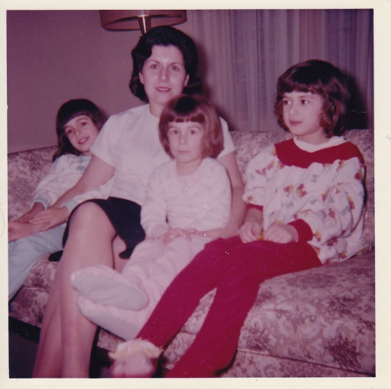 Mom and the Three of Us!