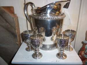 Silver Set Whimsy Antiques
